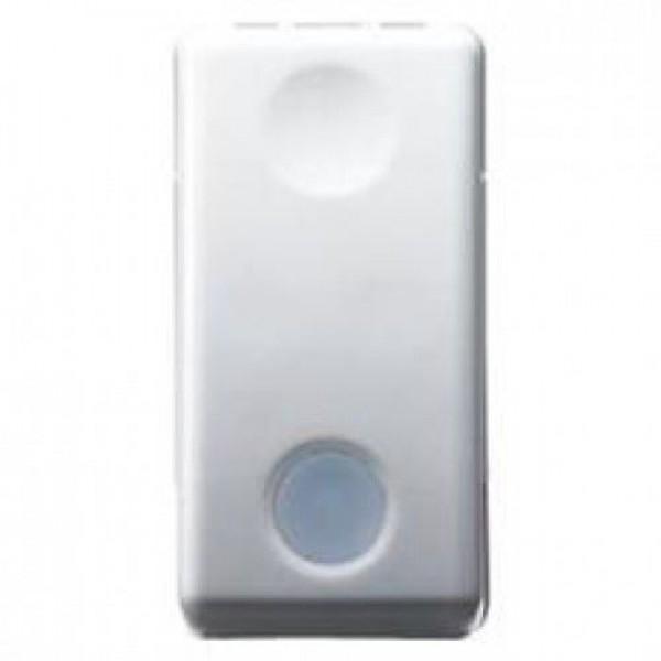Intrerupator modular led Gewiss 1 Modul 16A gama System, alb, GW20572