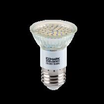 BEC CU LED LED60SMD3528 3W E27 230V ALB CALD