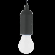 BULB SHAPE PULL LIGHT E-6621 1W BLACK