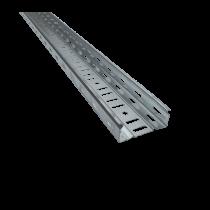 CANAL DE CABLU METALIC PERFORAT CT1 UT H:40MM W:100MM T:0,8MM L:2500MM