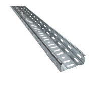 CANAL DE CABLU METALIC PERFORAT CT1 UT H:40MM W:200MM T:0,8MM L:2500MM