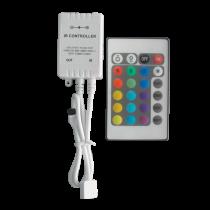 CONTROLER CU INFRAROSU LEDRGB 12V 6A 24 BUTOANE