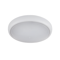 CORP ILUMINAT LED OVAL DE PERETE, BRLED 6W ALB IP54