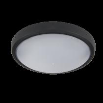 CORP ILUMINAT LED OVAL DE PERETE, BRLED 6W NEGRU IP54