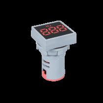 DIGITAL SQUARE FREQUENCY METER EL-ED16S AC 35-99Hz D22mm