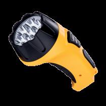 HANDY SPOT FLASHLIGHT RECHARGEABLE E-6630 7LED YELLOW