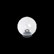 LAMPA DE GRADINA PMMA TRANSPARENT 250MM