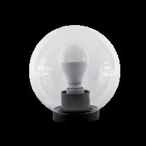 LAMPA GRADINA SFERA PMMA 200 CU SURSA LED A60 15W E27 230V 4000-4300K TRANSPARENTA