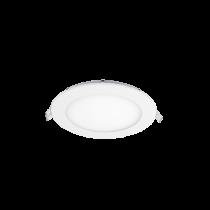 LED PANEL ROTUND SERIE ECO 12W ALB RECE D145mm