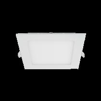 LED PANEL STELLAR PATRAT MONTAJ INGROPAT 12W 2700K ALB 174X174mm