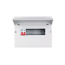 METAL CONSUMER UNIT 22 MOD+ISS 2P/100A