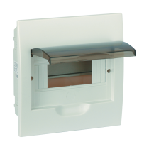 PLASTIC DISTRIBUTION 4 WAY BOX BUILT-IN MOUNTING