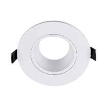 PLASTIC DOWNLIGHT ROUND D90mm WHITE