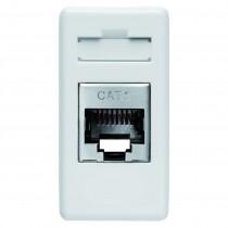 Priza modulara date Gewiss RJ45 FTP CAT.6 System White, GW20686