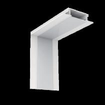 PROFIL COLT INTERIOR  LED INCASTRAT ALB S48