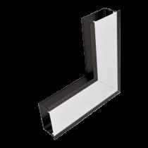 PROFIL COLT L-TIP INTERIOR LED INCASTRAT ALB  S48