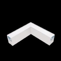 PROFIL COLT L-TIP LED APLICAT ALB S48