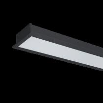 PROFIL LED INCASTRAT S48 12W 4000K 600MM NEGRU