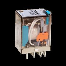 RELEU INDUSTRIAL 55.04 12VDC 4NO+4NC