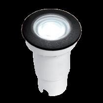 SPOT PARDOSEALA LED ALDO 1.7W 4000K IP67 NEGRU