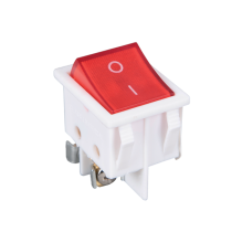 SWITCH E-232 250VAC 20A ON-OFF WITH LIGHT