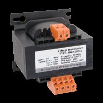 TRANSFORMATOR DE RETEA EVT5-100VA 400V/24V-12V