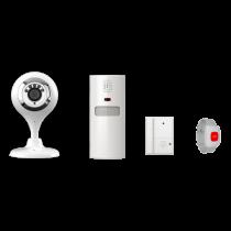WIFI IP CAMERA WITH ALARM SYSTEM- KIT